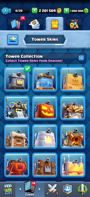 All-Tower-Skins-unlocked