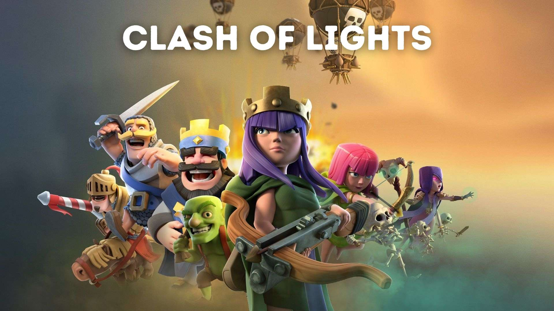 Clash of lights for Android