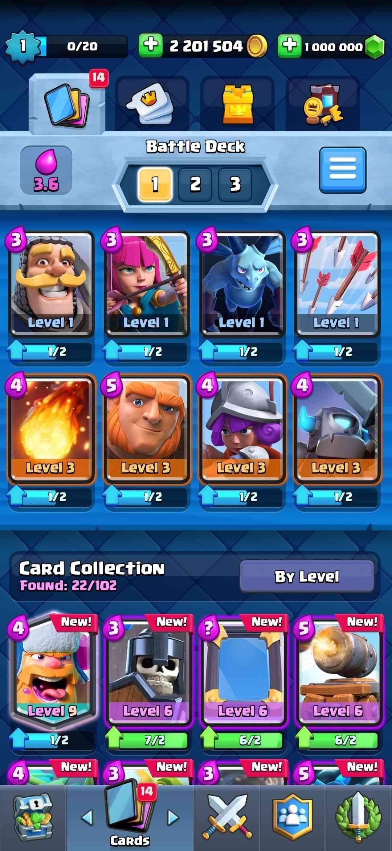 upgrade battle deck