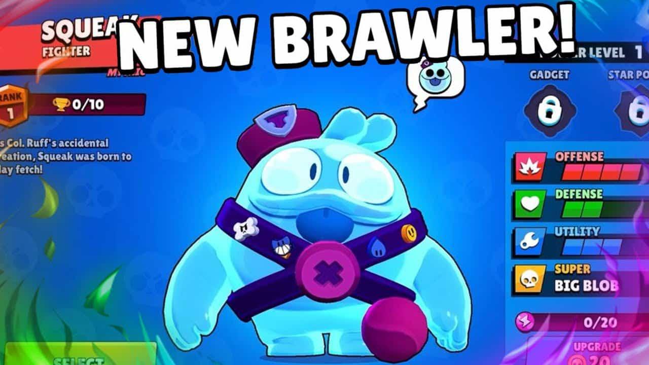 new brawler- squeak